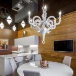 светильники для натяжных потолков идеи декора