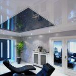 светильники для натяжных потолков фото дизайн