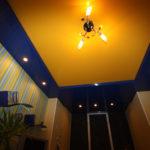 светильники для натяжных потолков дизайн