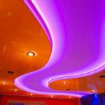 светильники для натяжных потолков фото идеи