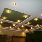 светильники для натяжных потолков идеи фото