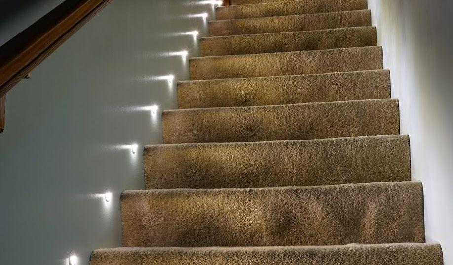 светильники для подсветки лестницы