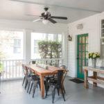терраса и веранда в частном доме фото интерьер