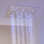 тропический душ для ванной фото декор