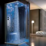 тропический душ для ванной идеи декор