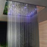 тропический душ для ванной интерьер фото