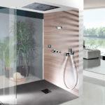 тропический душ для ванной фото идеи
