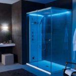 тропический душ для ванной оформление идеи
