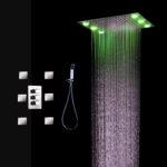 тропический душ для ванной дизайн фото