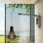тропический душ для ванной идеи