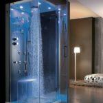 тропический душ для ванной идеи дизайн
