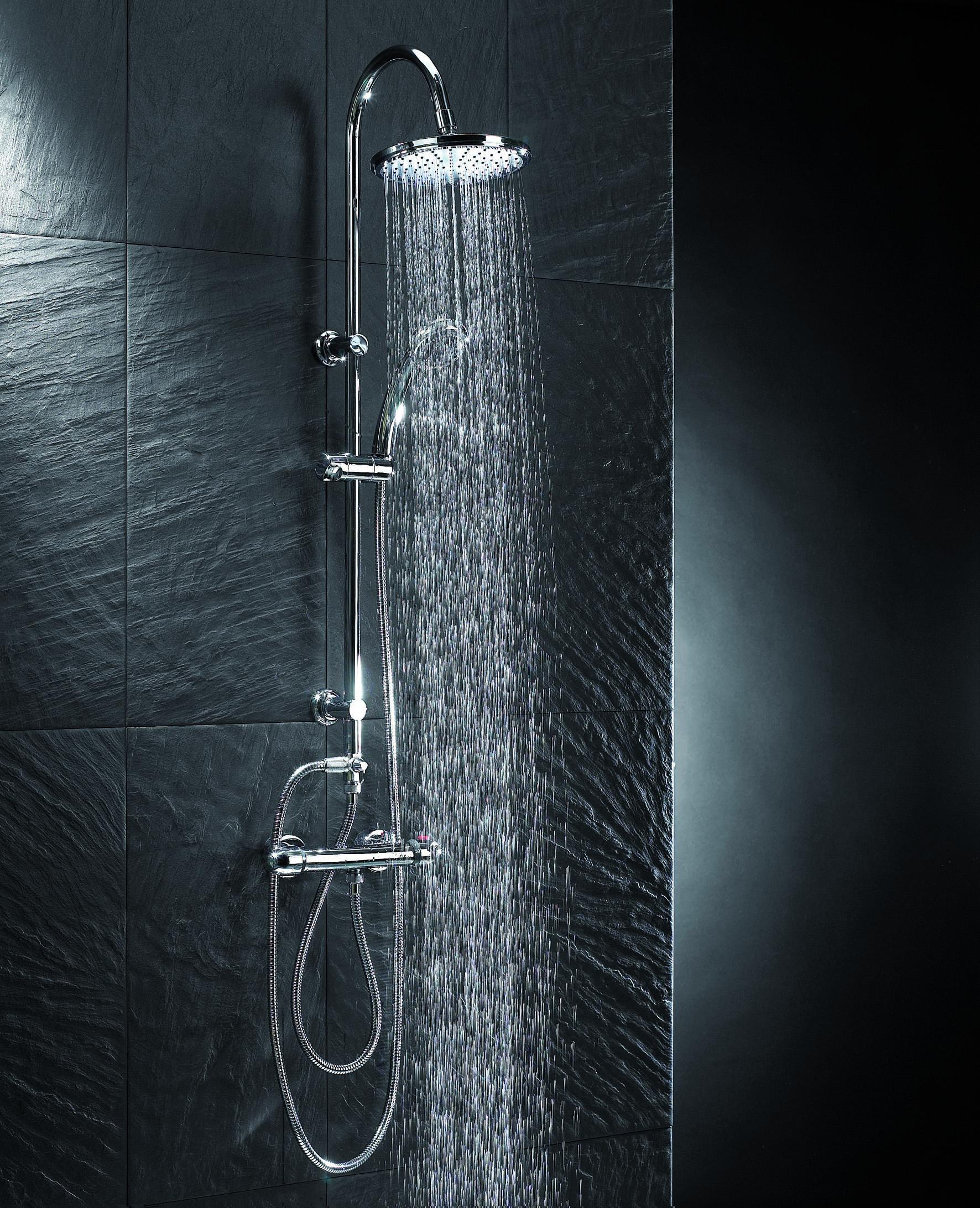 тропический душ со стойкой