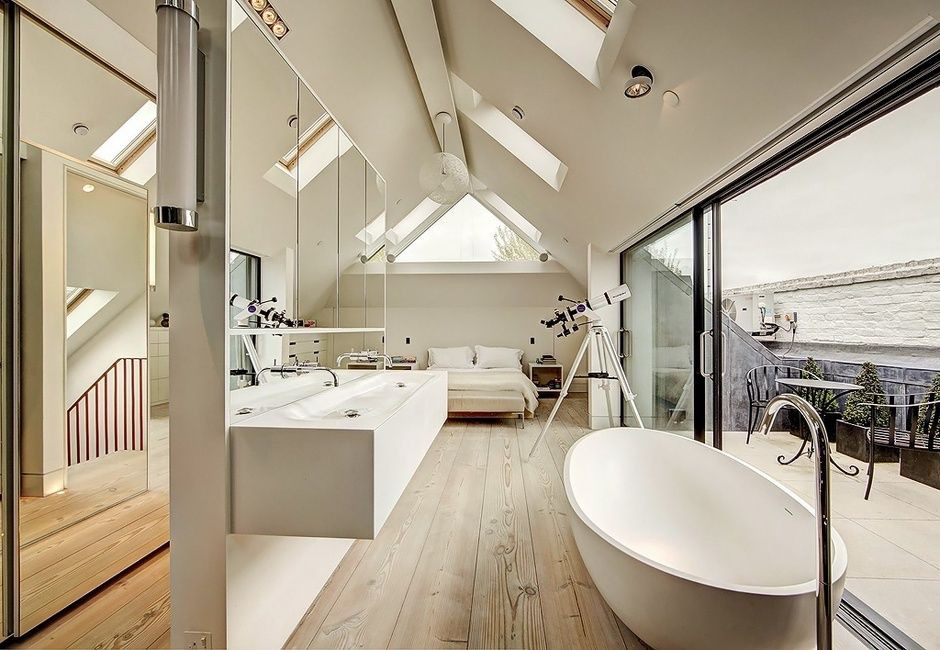 ванна из литьевого мрамора белая