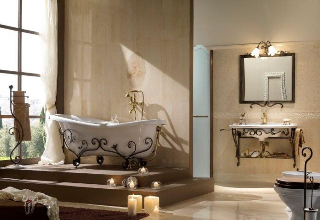 ванна из литьевого мрамора дизайн фото
