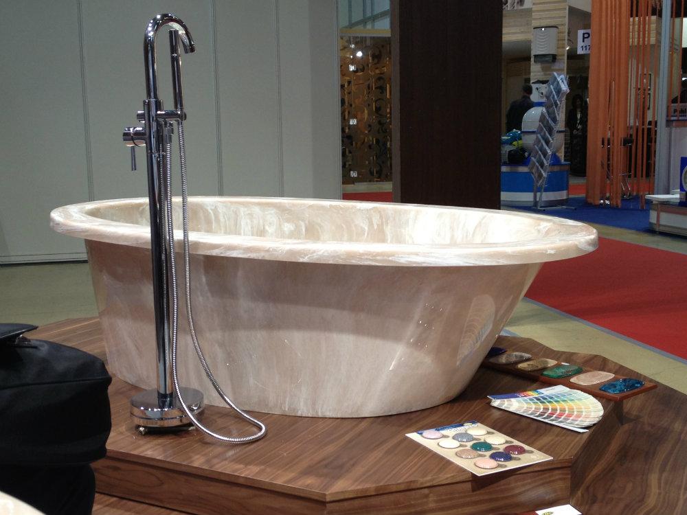 ванна из литьевого мрамора фото идеи