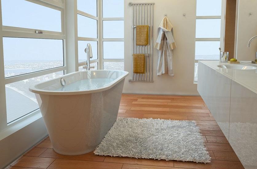 ванна из литьевого мрамора фото