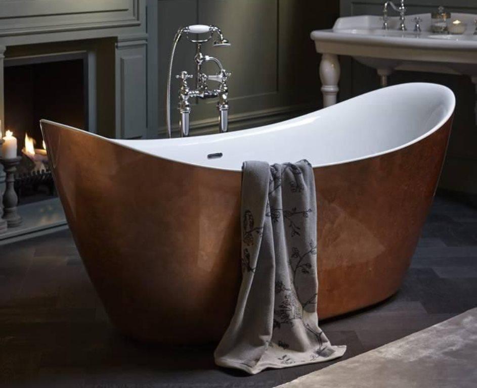 ванна из литьевого мрамора идеи дизайна