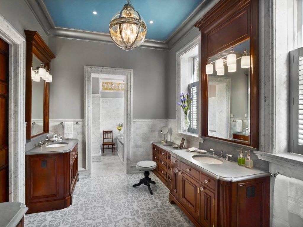 ванная комната английская классика