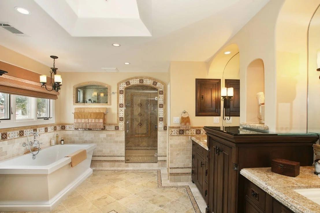 ванная комната испанская классика