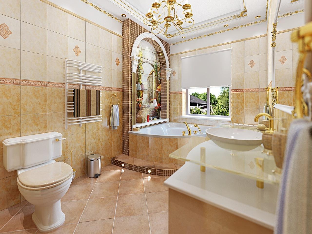 ванная комната итальянская классика