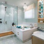 ванная комната в белом цвете интерьер фото