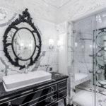 ванная комната в классическом стиле дизайн идеи