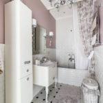 ванная комната в классическом стиле декор