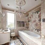 ванная комната в классическом стиле идеи интерьер