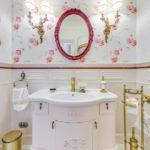 ванная комната в классическом стиле фото варианты