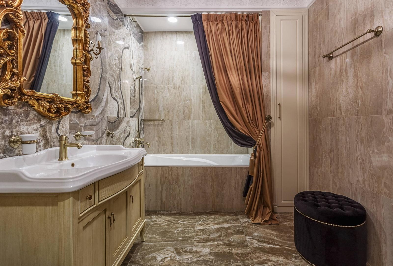 ванная комната в классическом стиле идеи фото