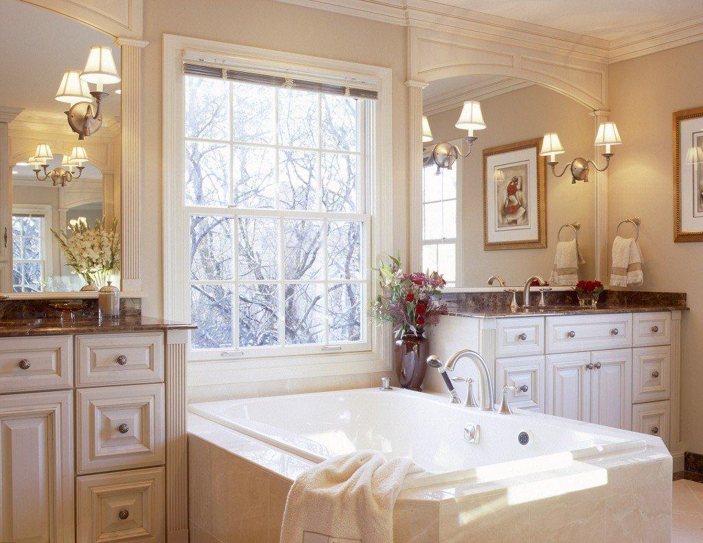 ванная комната в классическом стиле оформление