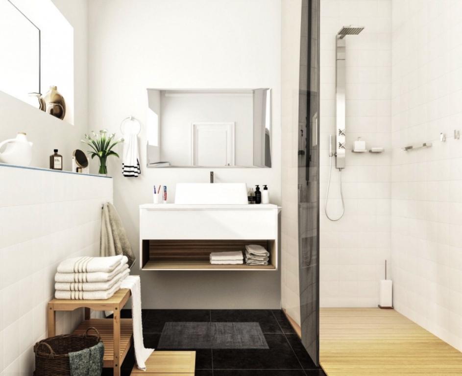 ванная комната в скандинавском стиле декор