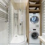 ванная комната в скандинавском стиле дизайн