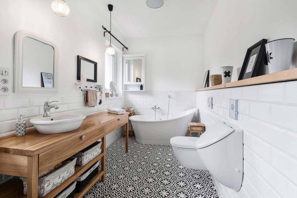 ванная комната в скандинавском стиле фото дизайн