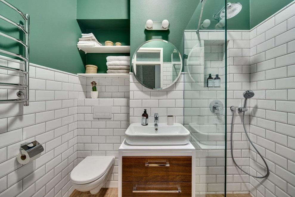 ванная комната в скандинавском стиле фото оформления