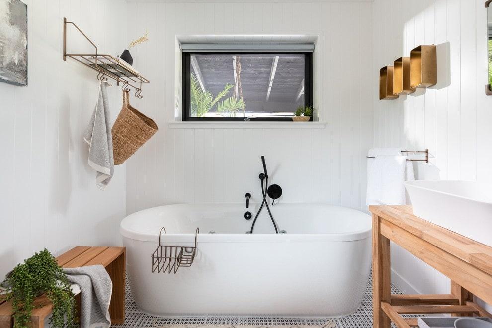 ванная комната в скандинавском стиле идеи дизайна