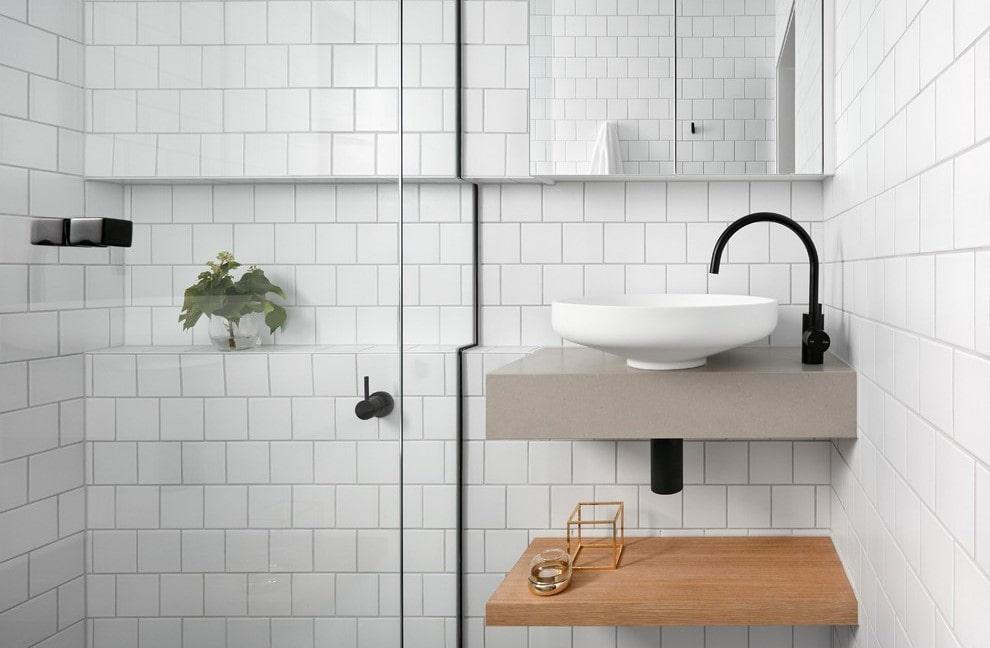 ванная комната в скандинавском стиле идеи интерьер
