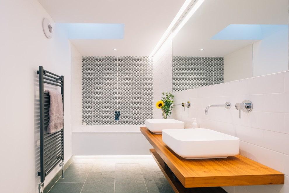 ванная комната в скандинавском стиле интерьер фото
