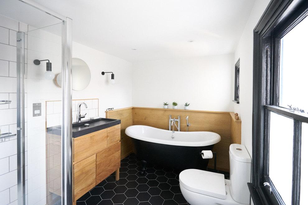 ванная комната в скандинавском стиле интерьер идеи