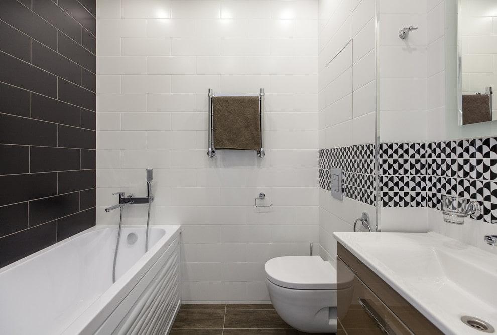 ванная комната в скандинавском стиле оформление