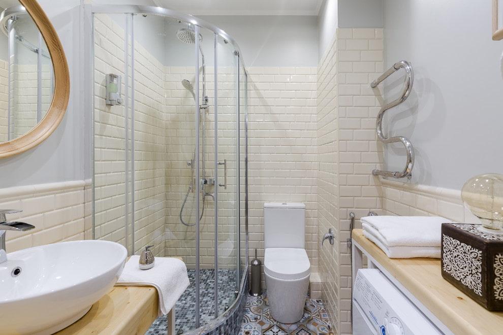 ванная комната в скандинавском стиле планировка