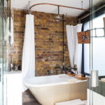 ванная комната в стиле лофт идеи дизайна