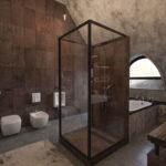ванная комната в стиле лофт фото декор