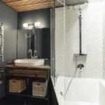 ванная комната в стиле лофт декор идеи