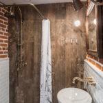 ванная комната в стиле лофт интерьер