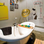 ванная комната в стиле лофт фото оформления