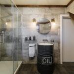 ванная комната в стиле лофт оформление идеи