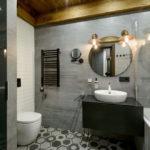 ванная комната в стиле лофт варианты