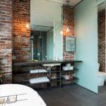 ванная комната в стиле лофт идеи вариантов