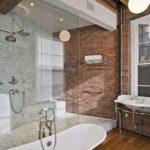 ванная комната в стиле лофт фото видов